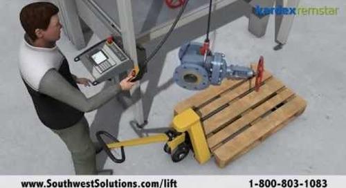 Oilfield Storage Automation Safe Handling and Storage for Wellhead Equipment