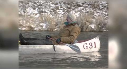 Winter Niobrara Canoeing