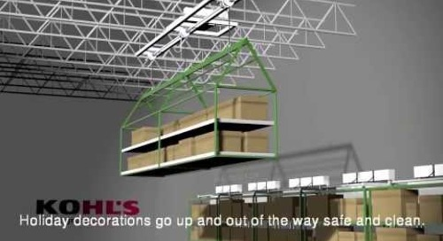 Maximizing Retail Storage Space with Automated Overhead Storage Platform Lifts