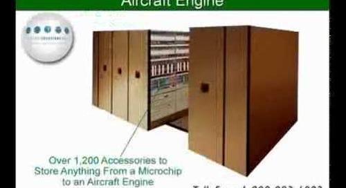 High Density Storage Design | Space Saver Shelving | Mobile Shelves