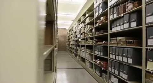 Compact Shelving Solves Storage Space Problem for Archives Facility