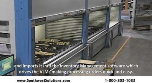 Managing Oilwell Parts with ASRS Shuttle VLM Storage Solutions
