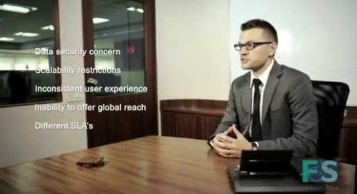 Jonas Zelba talks hosted contact centres
