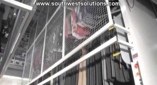 Push Button Revolving Clothing Storage Machines | Vertical Carousels for Garments