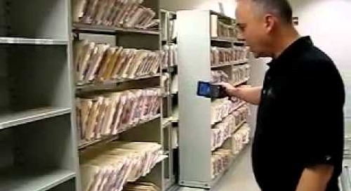Tracking Misplaced Files with RFID Technology Filing Labels