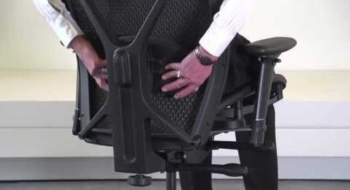How to adjust your Fluid Chair