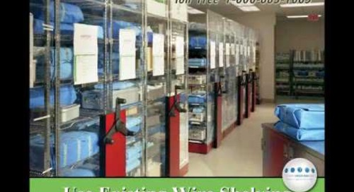 Hospital & Medical Rolling File and Storage Shelving Oklahoma City 405-879-3448