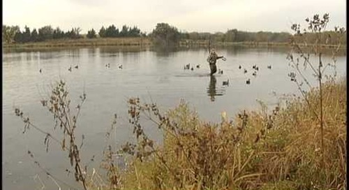 Waterfowling Nebraska - Duck Decoy Spread