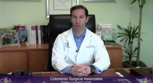 Dr. Haas - Ostomy Reversal Infiltration Video