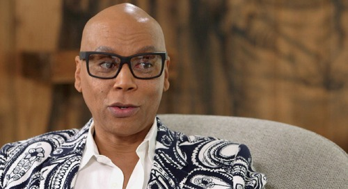 RuPaul Opens Up To Oprah About What Drag Taught Him About Life