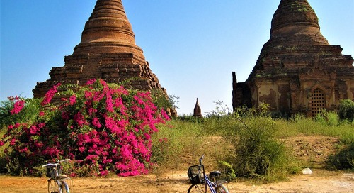 Day Cycling Through the Temples of Bagan