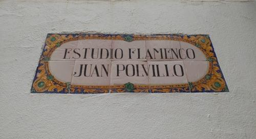 Dancing Flamenco in Seville, Spain