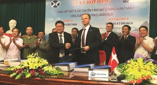 FLSmidth to supply South East Asia's largest cement plant