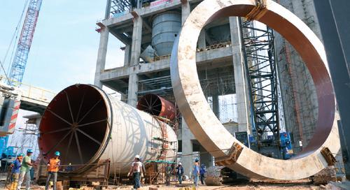 PT Semen Indonesia's Rembang plant is on track