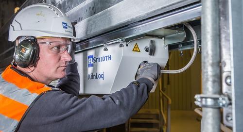 Benefits of analysing kiln inlet gases
