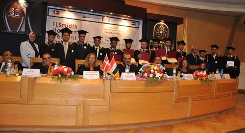 Helwan welcomes first Cement Engineer graduates