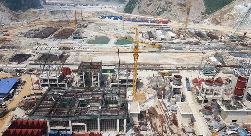 Vietnam's largest cement plant takes shape