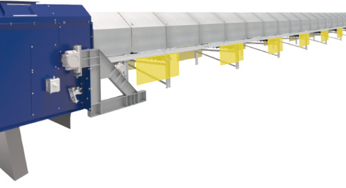 Safety above all - New belt conveyor