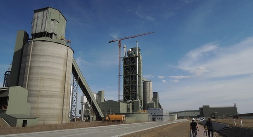 Mongolia's newest cement plant opens doors