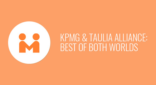 The KPMG & Taulia Alliance: Best of Both Worlds