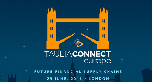 Taulia Connect Europe