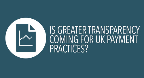 Is greater transparency coming for UK payment practices?