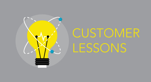 Customer Lesson: Be Timely & Solve Current Problems