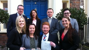 Sigmar win Best Sales & Marketing Recruitment Team in Ireland