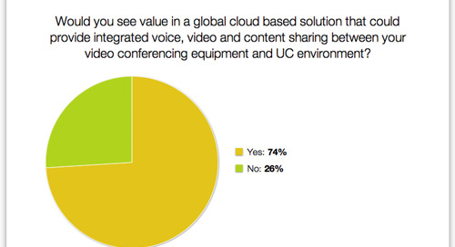 Customers value global cloud solutions for UC