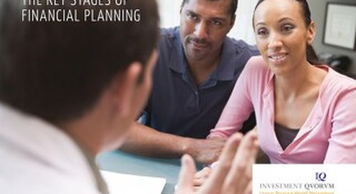 The Key Stages of Financial Planning